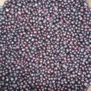 Fresh cleaned wild blueberry. Vaccinium myrtillus.